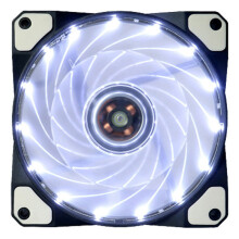 BESSKY 15 LED Light Quite 120mm DC 12V 4Pin PC Computer Case Cooling Cool Fan Mod_