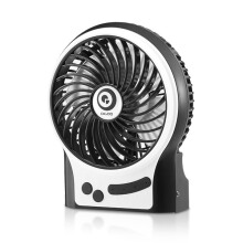 JDWonderfulHouse Digoo DF-002 4 Inch Portable Rechargeable Multifunctional USB Cooling Fan for Desktop Notebook Laptop