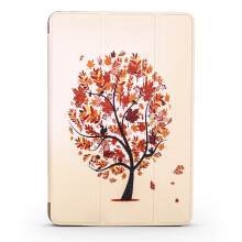 Keymao iPad Pro 9.7 Cute Tablets Flip Stand Leather Cases maple maple