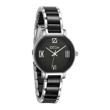 ZECA Women's Watch 136L.S4.P.S2 - Silver Black