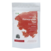 Herbilogy Pomegranate Peel Extract Powder - 100g