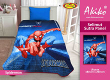 Selimut Akiko Sutra Panel 150x200 Spiderman 2 - Red Red Black