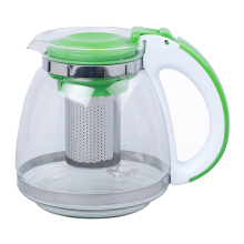 VIERA Glass Tea Pot 1500 ml TMS 62-003 - Green