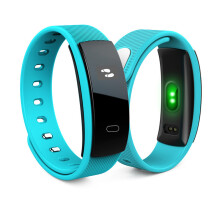 BESSKY QS80 Bluetooth Smart Watch Bracelet Fitness Heart Rate Monitor For Android IOS_