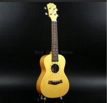 BWS 23inch Ukulele Concert Acoustic Children Gift Kid's Present Small Guitar Musical Instruments B-40 Yellow