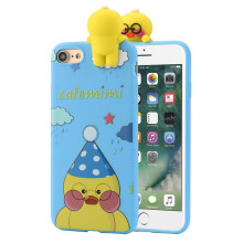 BESSKY 3D Cartoon Animals Cute Bare Bears Soft Silicone Case Skin For IPhone 7_