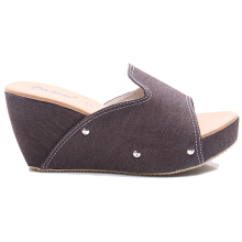 Dr. Kevin Women Wedges Sandals 27346 - Brown
