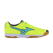 MIZUNO SALA CLASSIC 2 IN - SAFETY YELLOW/TURQUOISE