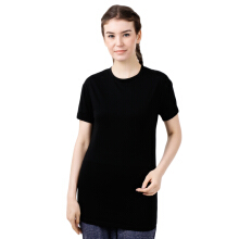 STYLEBASICS Washed Long T-Shirt 6383 - Black