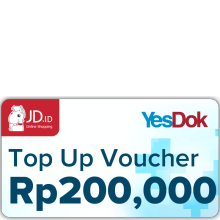 YesDok Top Up Voucher Value Rp 200.000