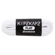 KIPZKAPZ FS42 Flat Shoelace - White Mint [6mm]