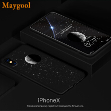 Maygool iphone X Phone Case Plastic Covers For apple PC Cases