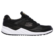 skechers OG 95 Hug It Out - sepatu sneakers wanita 610/BLK Black 37