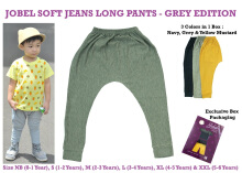 Jobel Long Pants Soft Jeans - Grey Edition