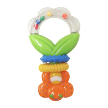 LUCKY BABY Mega Floral Ring Rattle (Assorted Colors)