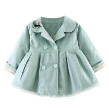 BESSKY Baby Girl Autumn Cotton Coat Thick Warm Outwear Clothes_