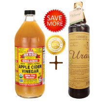 Bragg Apple Cider Vinegar 946 ml + Madu Uray 640 ml