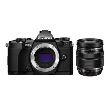 Olympus OM-D E-M5 Mark II Body Only + ED 12-40mm F/2.8 PRO Lens Black