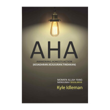 AHA: Awakening, Honesty, Action (Kesadaran, Kejujuran, Tindakan) by Kyle Idleman - Religion Book 9786027988651