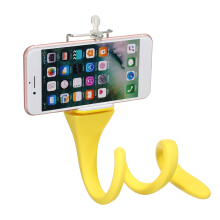 Banana Snake Pod Flexible Tripod Mount Selfie Stick for Sj4000 XIAOML Gopro Smartphone - Yellow