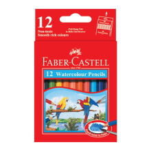 FABER-CASTELL Watercolour pencils parrot 12 S 114461
