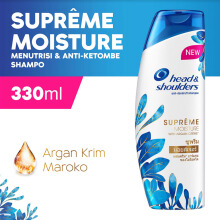 HEAD & SHOULDERS Shampoo Supreme Moisture Anti-Ketombe 330ml