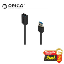ORICO CER3-15 USB3.0 AM to AF 5 Ft / 1.5M Round USB Cable Black