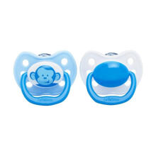 Dr. Brown's 971 Pacifier with Handle Monkey - Blue [2 pcs/Size 2/ 6-12m]