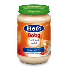 HERO BABY Import Premium Food Chicken with Rice 200 gr