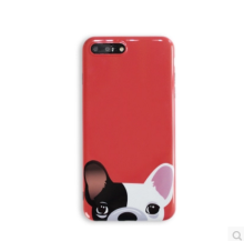 Ins AP-197 TPU All-inclusive soft shell Anti-drop durable IPHONE6/6s case cover-Red