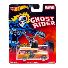 HOTWHEELS Pop Culture Marvel Ghost Rider 55 Chevy Panel DLB45
