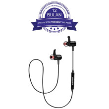 Tronsmart Magnetic Sports Earphones Bluetooth with Built in Mic - Black/Hitam