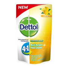 DETTOL Floor Cleaner Citrus Pouch 700ml