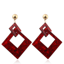 Fashion Christmas Party Double Diamond Drop Earrings for Women