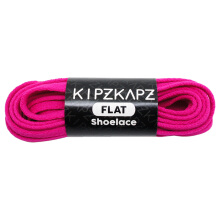KIPZKAPZ FS17 Flat Shoelace - Hot Pink [6mm]