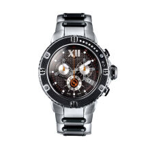 Moment Watch Guy Laroche GL6264-01 jam tangan Pria - stainlles steel - Black Black
