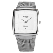 Alexandre Christie AC 8329 MD BSSSL Man White Dial Stainless Steel [ACF-8329-MDBSSSL] Silver