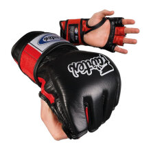 FAIRTEX Ultimate Combat MMA Gloves - BlackRed FGV12