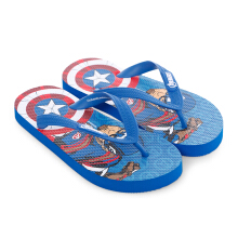 MARVEL Avengers Captain America Flip Flops for Kids AVJD07 – Blue