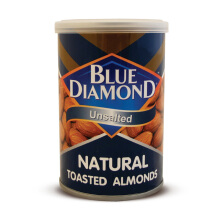 BLUE DIAMOND  Natural Toasted Unsalted Almond 130 g