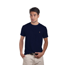 POLO RALPH LAUREN - T Shirt Custom Fit S/S Newport Navy Men - 000791