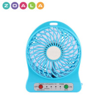 ZOALA Kipas Angin Mini Portable Travel - Portable Mini Fan - Biru-MF-FS-BL
