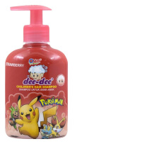 DEE-DEE Shampo Botol Pump Strawberry 250ml