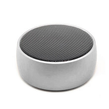 Vinmori Mini Bluetooth Speaker with 9 Hour Playtime Dual-Driver Portable Wireless Speaker with Low Harmonic Distortion Silver