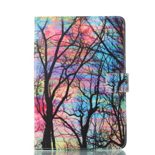 Sentum Apple iPad mini 1 2 3 Case Tablets Flip Stand Leather Color tree