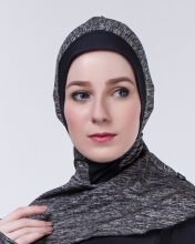 SPECS ESORRA HIJAB CAP W - HEATHER BLACK (HIJAB ONLY) Multicolor NS