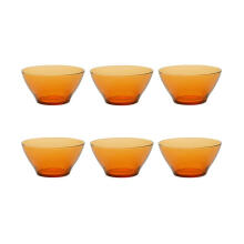 Duralex Mangkuk Amber Bowl 510mL - Set of 6