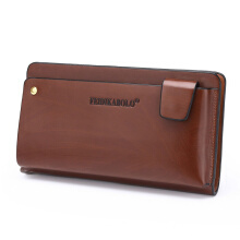 Wei's Men's Choice Fashion Wallet Business Casual Trends Wallet Clutch fdk906