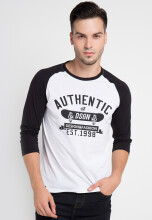 D&F T-Shirt Authentic Dsgn - White