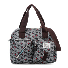 HUER Boston Tote Bag - Grey